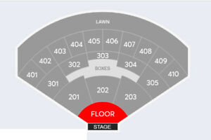 Florence and the Machine --- FLOOR ticket --- Toronto
