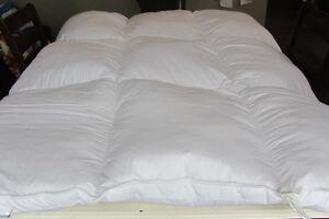 Queen Goose Down-Filled Mattress Top