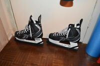 Mint condition Reebok XT hockey skates (+ protectors) for sale