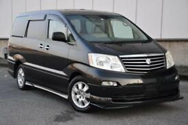 TOYOTA ALPHARD, 2004, 3.0 LITRE, PETROL, 68,656 MILES, AUTOMATIC