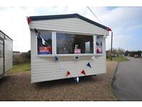 Static Caravan Steeple, Southminster Essex 3 Bedrooms 8 Berth ABI Arizona 2009