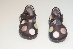 pediped baby girl shoes 0-6 months
