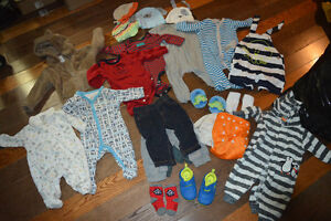 Baby Clothes, Various Sizes (Newborn-1 Year)