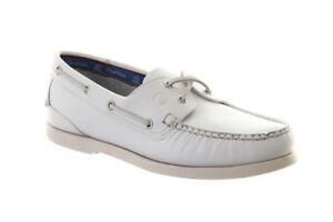 Stylish White Deck Shoes.