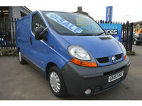 RENAULT TRAFIC 1.9 DCi SWB GREAT RUNNER TIMING BELT DONE YEARS MOT PLY LINED