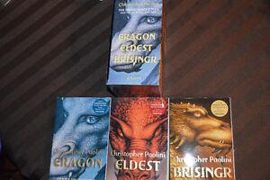 The Inheritance Cycle - Eragon Eldest Brisingr by Chris Paolini