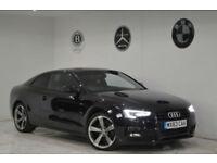 2013 Audi A5 2.0TD 177 Black Edition+1 OWNER+FSH+2 KEYS+DAB+BANG&OLUFSEN+S LINE+