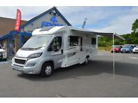 2016 ELDDIS ENCORE MAJESTIC 255 2.2 150 BHP 4 BERTH 4 BELTED TRAVELLING SEATS 6