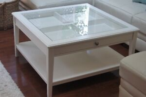 Beautiful White Ikea Liatorp Coffee Table - Mint Condition
