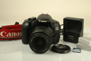 Canon EOS Rebel T3i (600D) DSLR Camera with 18-55mm f/3.5-5.6 IS