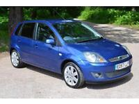 2007 FORD FIESTA 1.6 TDCi Zetec 5dr [Climate] DIESEL ONLY 39,000 MLS