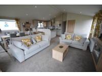3 bedroom lodge with decking. South Devon. Longe Season Free 2018 site fees