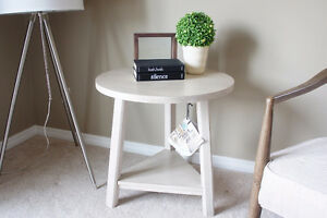 Accent Table - Solid Wood with Birch Veneers - NEW