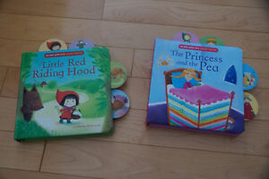 Set of 2 Interactive Storybooks - $2 for Both