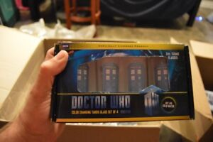 Doctor Who Tardis color changing glasses