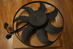 Audi A3 Left Engine Cooling Fan