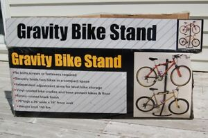 ProStor Gravity Bike Stand Freestanding Bike Rack