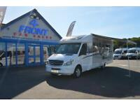 2016 AUTO-SLEEPER BURFORD MOTORHOME MERCEDES-BENZ AUTOMATIC GEARBOX 4 BERTH 4 TR