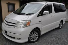 Toyota Alphard Hybrid direct Japan Import supplied fully UK Reg