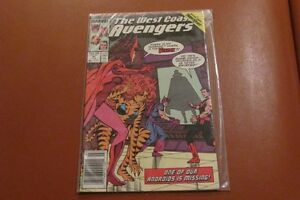 THE WEST COAST AVENGERS comic # 42