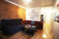 Plateau Mont-Royal- Vast apartment with 2 bedrooms for Rent