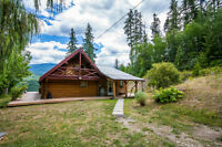 1728 Mabel Lake Road, Enderby - 4.94 Acre River Front!