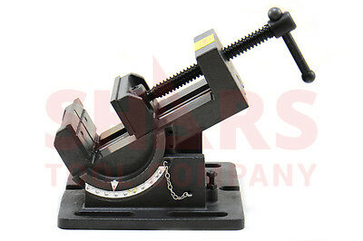 Shars 4-14 Precision Drill Press Tilting Tilt Vise Horz Vert New