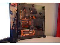 980ti custom Lian li gaming computer ONO
