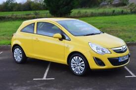 VAUXHALL CORSA 1.2 Excite 3dr [AC] LOW MILEAGE ONLY 36,000 MILES