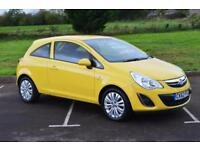2012 VAUXHALL CORSA 1.2 Excite 3dr [AC] only 36,000 miles