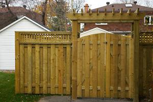 Fences, Decks, Interlock, Post Holes Dug and Set