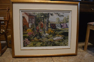 """Peter Etril Snyder """"Quilts"""" 370/500 29 1/2 inches X 35 1/2"""