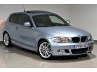 2010 BMW 120 2.0TD auto d M Sport - PX SWAP - FINANCE FROM £29p/w