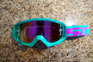 Brand new Scott Tyrant Goggles with Purple polarized lens(Green)