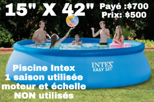 "Piscine gonflable Intex 15"" X 42"""