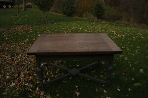 Jacobean Solid Oak Dining Table Cornwall Ontario image 1