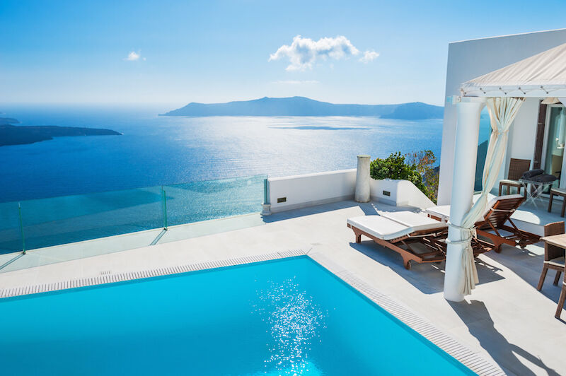 Elfmeter? Die genauen Abmessungen von Manuel Neuers Urlaubs-Pool in Griechenland sind leider nicht bekannt. (Bild: Thinkstock via The Digitale)