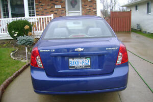 2004 Chevrolet Optra LS Sedan Kingston Kingston Area image 2