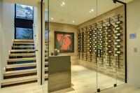 BEAUTIFUL CUSTOM WINE RACKS + CABINETS FOR YOUR HOME