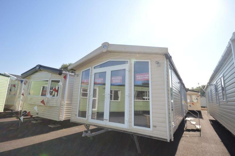 Static Caravan Chichester Sussex 2 Bedrooms 4 Berth Swift Chamonix 2009