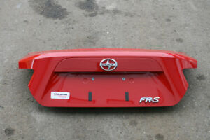 Toyota Scion FRS/ Subaru BRZ Oem Trunk Lid (Red Color) 2012-2016