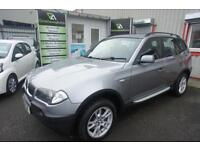 2004 BMW X3 SE PAN ROOF AND LEATHER ESTATE PETROL