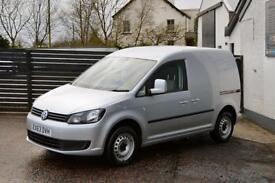 2013 VW CADDY 1.6 102 STARTLINE AC EW REFLEX SILVER 2 KEYS 1 OWNER