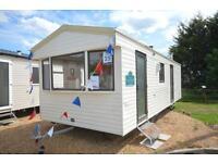 Static Caravan Steeple, Southminster Essex 2 Bedrooms 6 Berth ABI Sunrise 2009