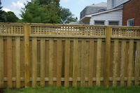 CASH DEAL Need a fence built in vegreville AB asap