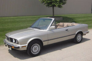 1988 BMW 3-Series 325i Convertible Convertible