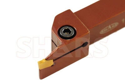 "Hertel 3//8/"" x 3//8/"" Right Hand Indexable Turning Toolholder SVJBR062 1002893"