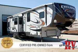 2014 Heartland Cyclone 4000 Elite – Take Your World by Storm!!