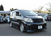 FRESH IMPORT FACE LIFT 2004 TOYOTA ALPHARD ESTIMA AUTOMATIC 8 SEATER ELGRAND