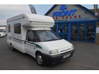 1999 AUTO-TRAIL TRACKER ON A FIAT SCUDO 1.9 TD MOTORHOME A SUPERB 1 FORMER KEEP